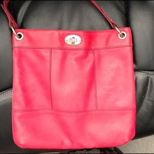Fossil Bag! Bright Berry pink. Used only one time.